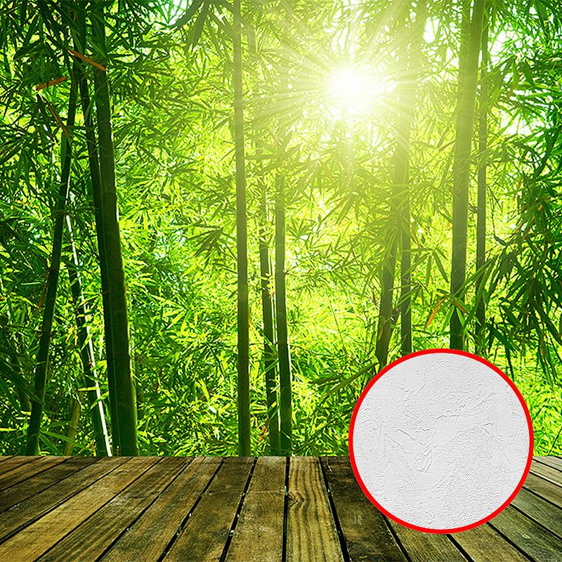 Фотообои Divino C-372 Фактура живопись Винил на флизелине (3*2,38) Зеленый, Пейзаж