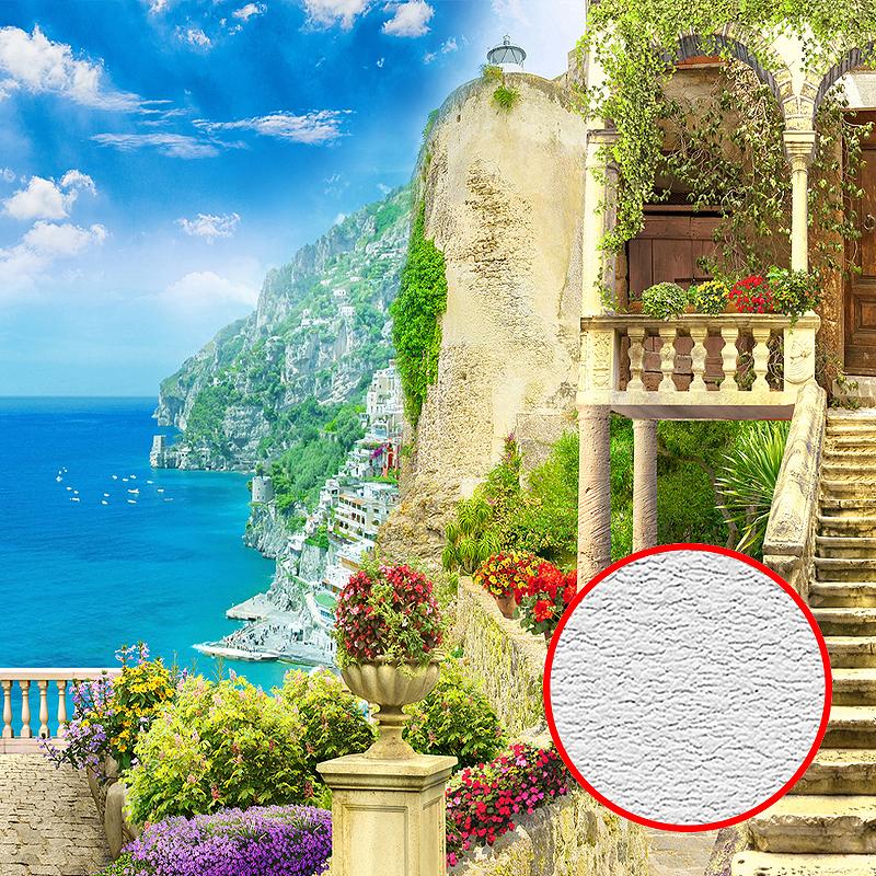 Фотообои Divino H-004 Фактура песок Винил на флизелине (4*2,7) Разноцветный, Пейзаж