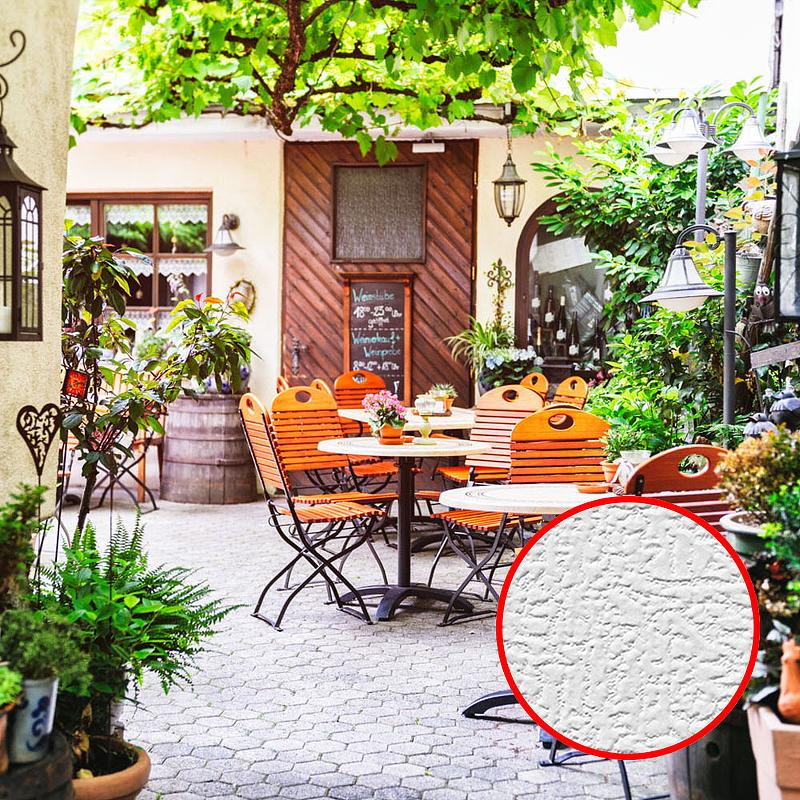 Фотообои Divino E-054 Фактура холст Винил на флизелине (4*2,7) Разноцветный, Город