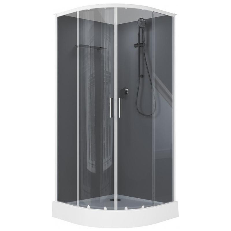 Душевая дверь для кабины Aquanet Passion EVO 258801 Стекло серое