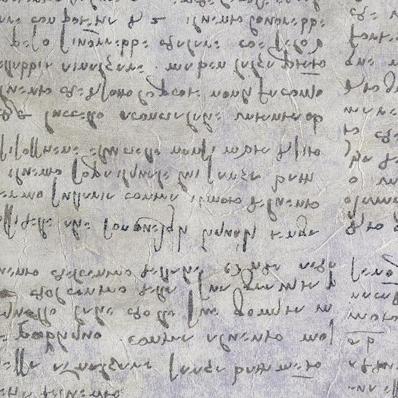 Обои JV Licenze Leonardo AD1 23023 Винил на флизелине (0,7*10,05) Серый, Надписи