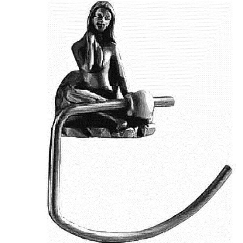 Полотенцедержатель Art&Max Juno AM-B-0716-T Серебро клей мебельный eskaro b 3 влагостойкий 2 5л арт 0716