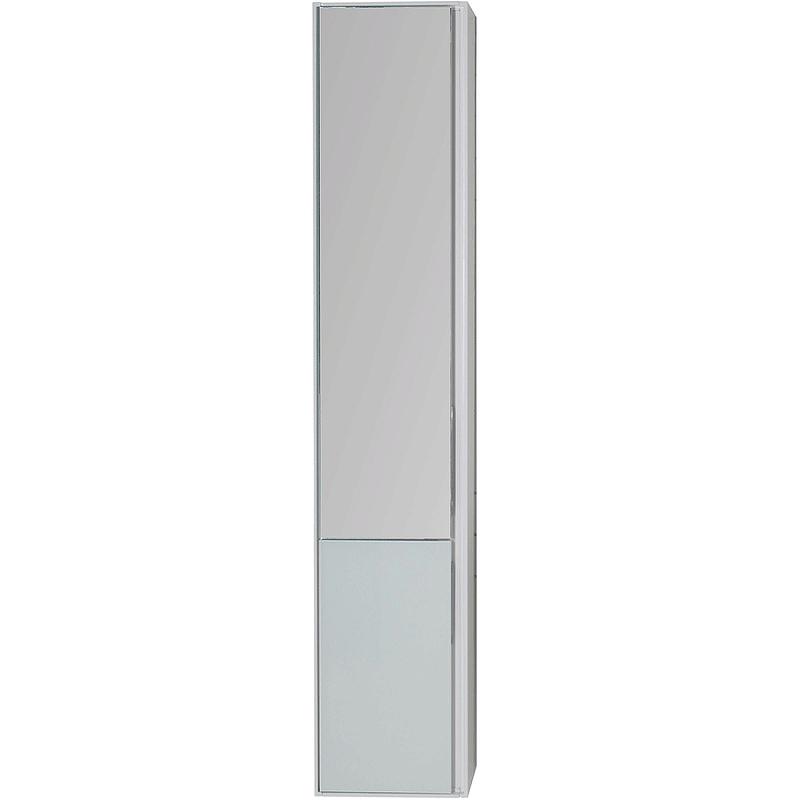 Шкаф пенал Aquanet Гласс 35 L 249946 подвесной Белый
