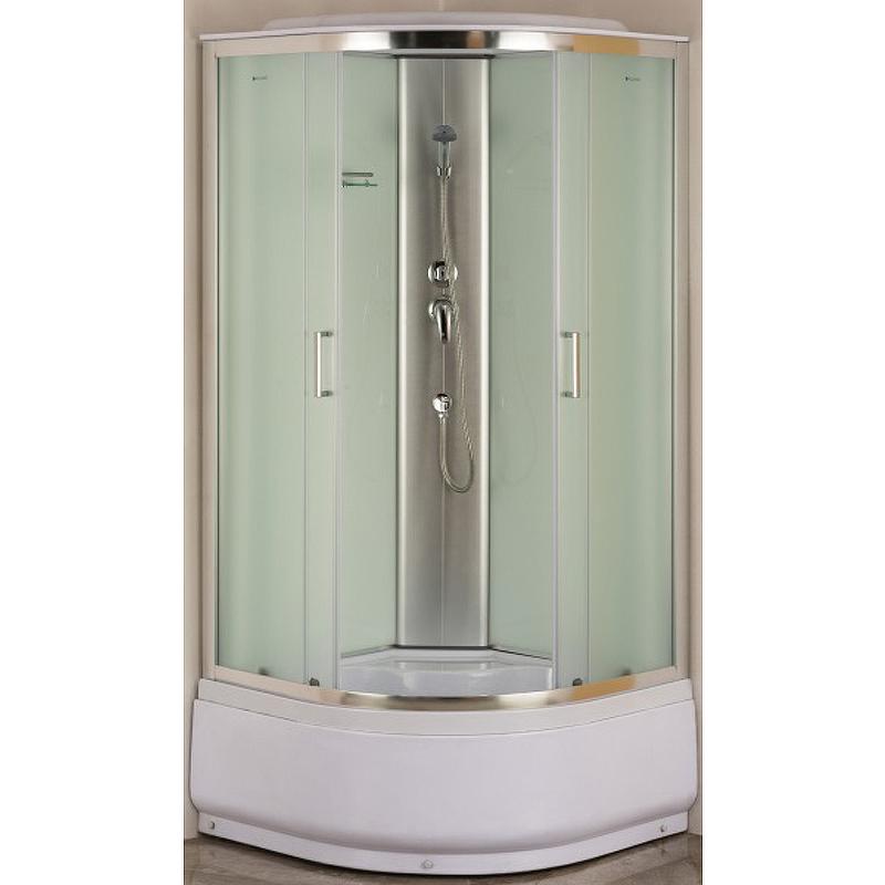 Душевая дверь для кабины Aquanet SC-900Q, №1/3 243399 Стекло матовое