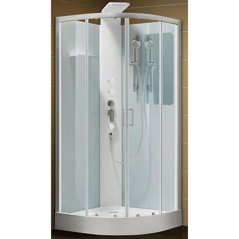 Душевая дверь для кабины Aquanet Passion R №1/4 215020 профиль Серебро стекло прозрачное