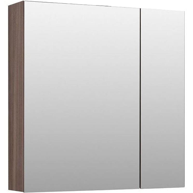 Фото - Зеркальный шкаф Aquanet Нью-Йорк 85 L 203954 Орех зеркальный шкаф aquanet нью йорк 70 орех 203952