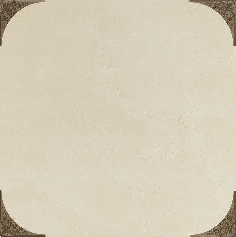 Керамическая плитка Click Ceramica Crema Marfil Estrella напольная 45х45 см