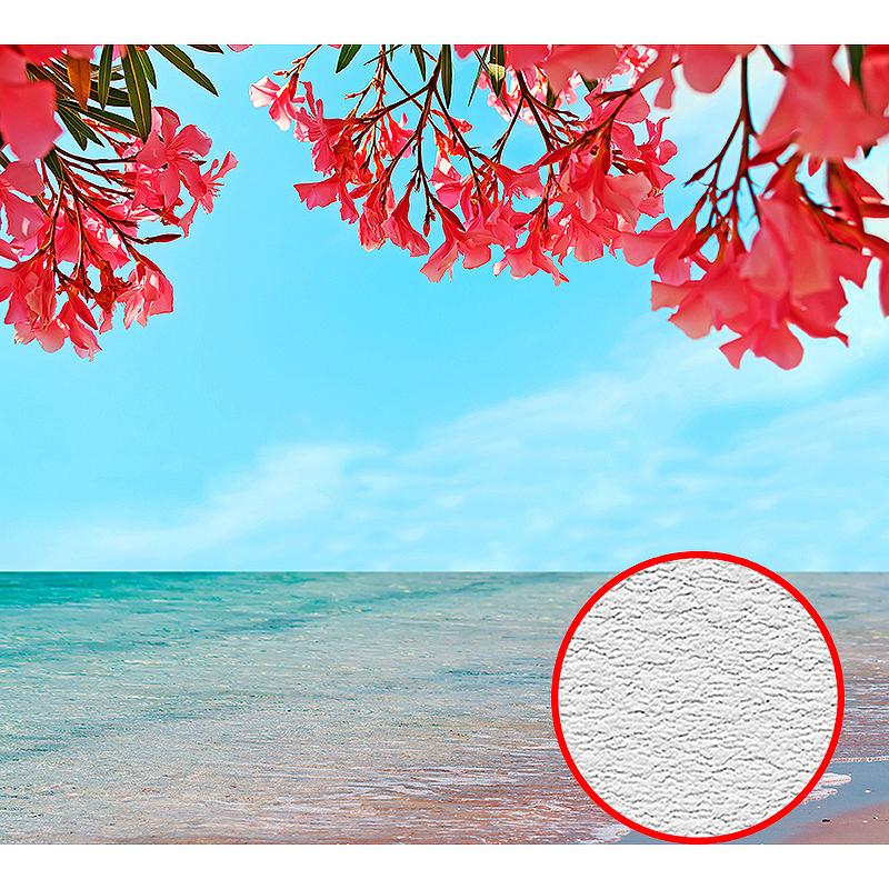 Фотообои Divino D-005 Фактура песок Винил на флизелине (3*2,7) Голубой, Море