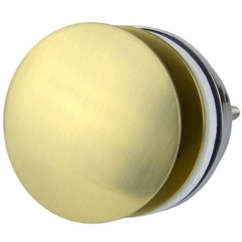 Донный клапан Bronze de Luxe 1760'S Loft 008CG click-clack Золотой матовый