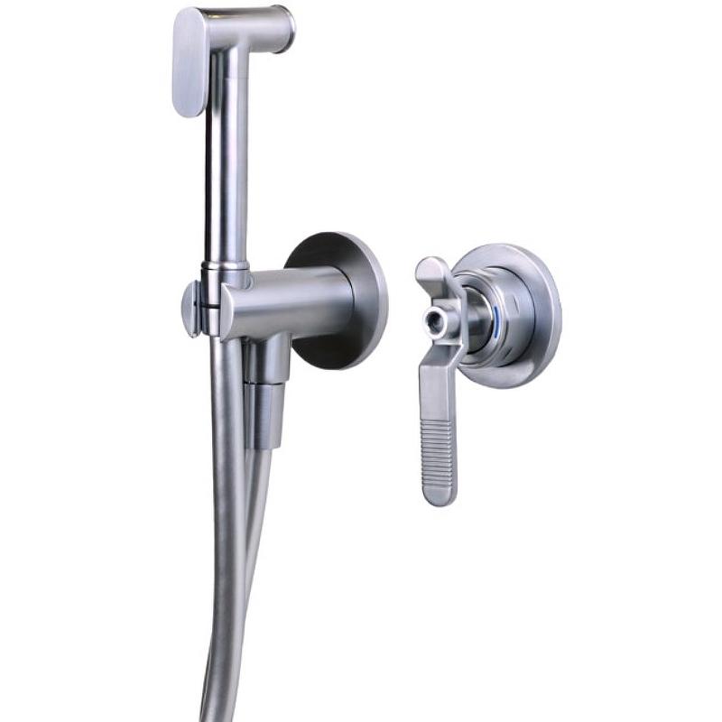 Гигиенический душ со смесителем Bronze de Luxe 1760'S Loft 3253CC Хром матовый