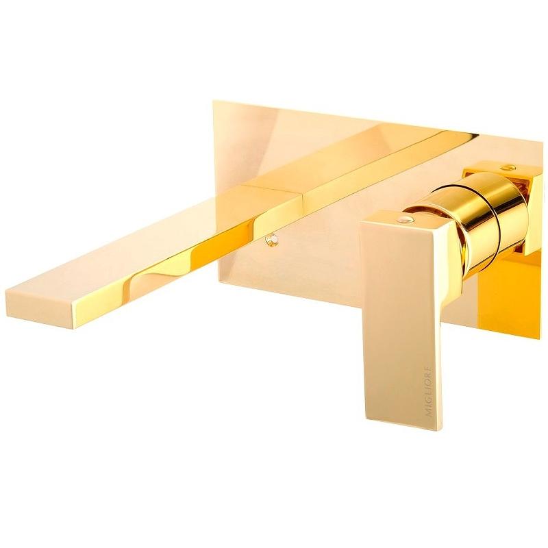 Смеситель для раковины Migliore Kvant Gold 25396 Золото