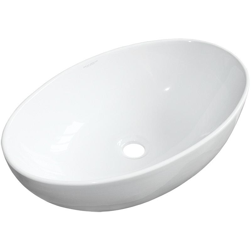 Раковина-чаша Sanita Luxe Ringo Cut 53 RNGSLWB01C Белая