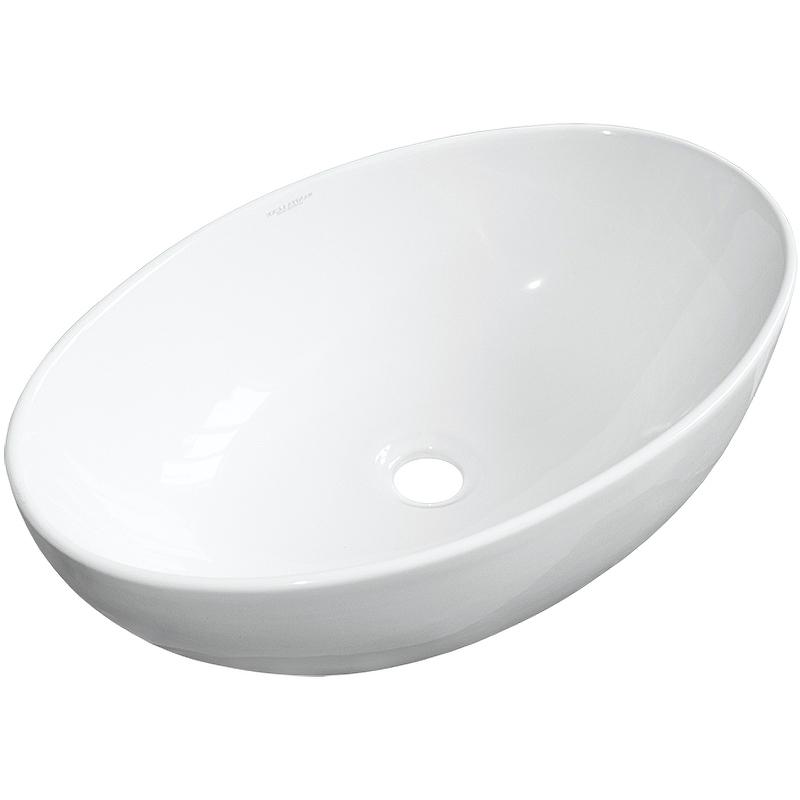 Раковина-чаша Sanita Luxe Ringo Slim 53 RNGSLWB01S Белая
