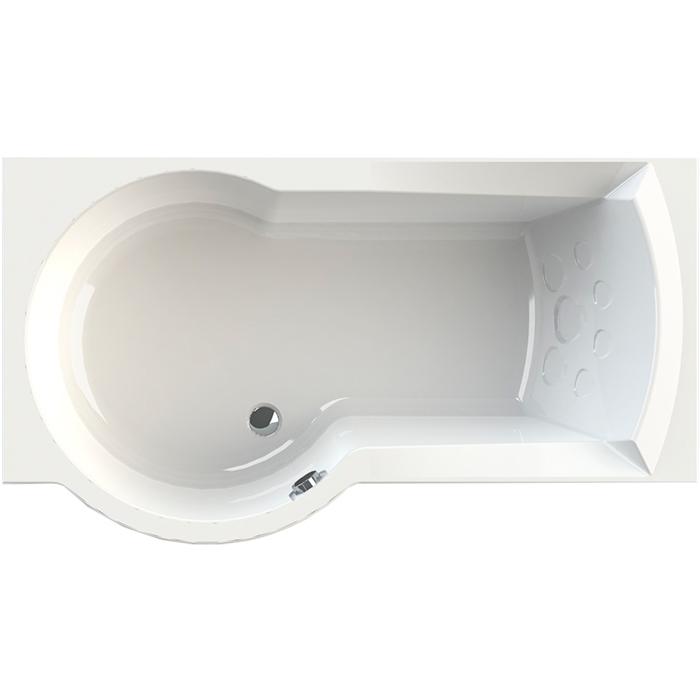 Фото - Акриловая ванна Radomir Валенсия 170x95 L 1-01-0-1-1-021 Белая без гидромассажа акриловая ванна 170х78 см radomir ларедо 1 01 0 0 1 027