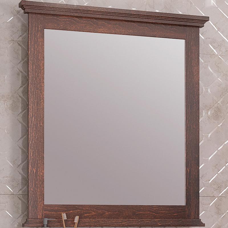 Зеркало Opadiris Палермо 80 00-00002352 Светлый орех