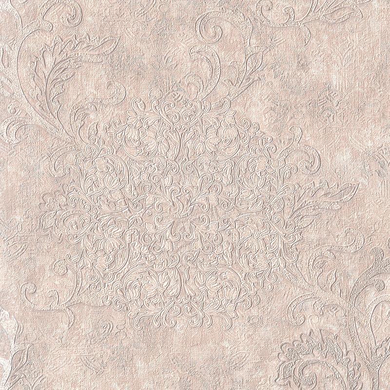 Обои Euro Decor Cosmea 7115-01 Винил на флизелине (1,06*10,05) Бежевый, Вензель