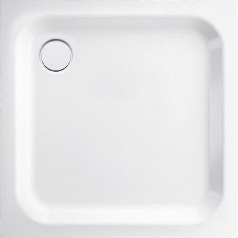 Фото - Стальной поддон для душа Bette Supra 90х90 5920-000 Белый поддон душевой praktik стальной эмалированный 800х800х160 мм