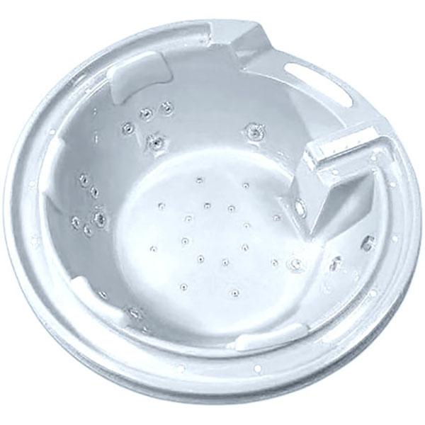 Купить Акриловая ванна, G9090 O 190х190 с гидромассажем Белая, Gemy, Китай