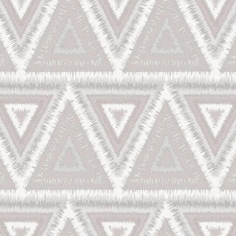 Обои Yasham Han 2 20536-1 Винил на флизелине (1*10,05) Серый, Геометрия