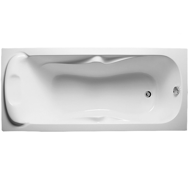 Акриловая ванна Relisan Marina 170x75 Белая акриловая ванна relisan lada 130x70 белая