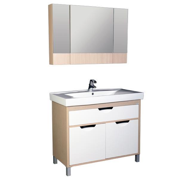 Гретта 100 ВенгеМебель для ванной<br>Тумба под раковину Акванет 171583 Гретта 100. В комплект поставки входит тумба с ящиком и двумя дверьми. Цвет: венге (фасад белый).<br>