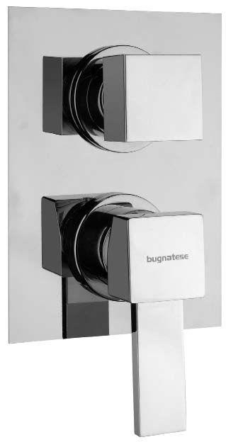 Смеситель для ванны Bugnatese Inside 9232 CR (хром) смеситель на борт ванны bugnatese inside 9255q cr хром
