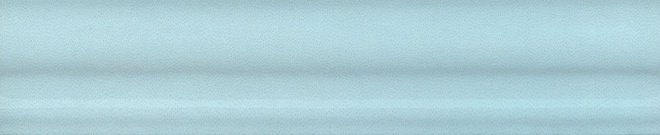Керамический бордюр Kerama Marazzi Мурано BLD019 багет голубой 15х3 см