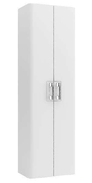 Паллада 50 белый глянец Белый глянецМебель для ванной<br>Шкаф-пенал Aquanet Паллада 50. Цвет белый глянец.<br>