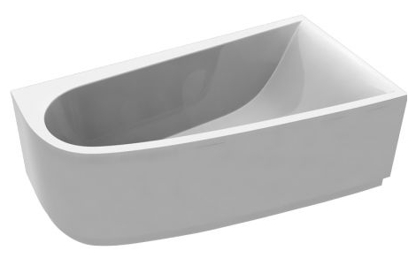 Boomerang 1700х900  ПраваяВанны<br>Vayer Boomerang 1700х900R асимметричная акриловая ванна.<br>