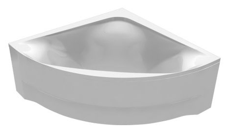 Акриловая ванна Vayer Boomerang 1400х1400 Угловая