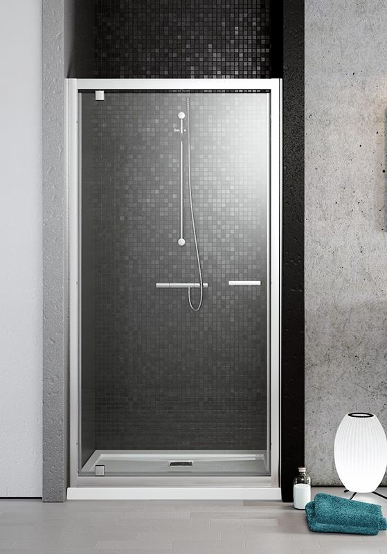 Twist DW 100x190 профиль хром, стекло коричневоеДушевые ограждения<br>Стеклянная душевая дверь в нишу Radaway Twist DW 382003-08 с универсальной ориентацией: можно установить, как в левой, так и в правой версии, просто перевернув ее. Распашная дверь подвешена на поворотных петлях в алюминиевом каркасе, открывается как внутрь, так и наружу. Металлическая ручка и детали хромированные.<br>Плавающие магнитные уплотнители с обеих сторон двери. <br>Двойной пристенный профиль с регулировкой +/- 10 мм для компенсации неровностей стен. <br>Возможен монтаж Г-образного душевого уголка<br>Установка производится непосредственно на пол или на поддон.<br>Закаленное безопасное стекло обладает противоударными свойствами. <br><br>Толщина - 6 мм<br>Стандарт безопасности PN:EN 12150:1<br>Easy Clean<br><br>Покрытие Easy Clean лишает стекло непосредственного контакта с водой и поэтому на его поверхности капли не оставляют следы, оседает меньше загрязнений, а уже осевшие легче очищаются, что экономит время и моющие средства при уборке. Этот невидимый полимерный защитный слой не подвержен коррозии и многократно уменьшает развитие бактерий.  <br>