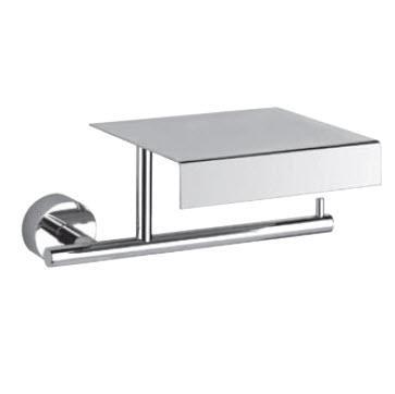 Minix 15549.031 ХромАксессуары для ванной<br>Держатель для бумаги с крышкой Gessi Minix 15549.031.<br>