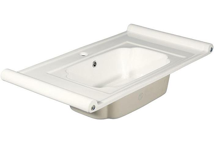 800-7501-75 (LT-7501-75) БелаяРаковины<br>Melana  LT-7501-75  раковина для ванной встраиваемая.<br>