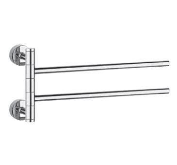 Minix 15615.031 ХромАксессуары для ванной<br>Держатель для полотенца двойной Gessi Minix 15615.031.<br>