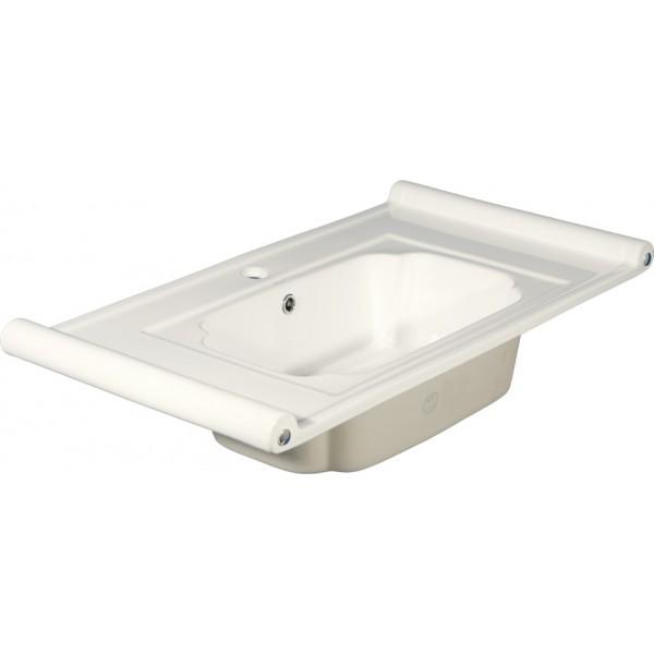 800-7501-95 (LT-7501-95) БелаяРаковины<br>Melana LT-7501-95  раковина для ванной встраиваемая.<br>