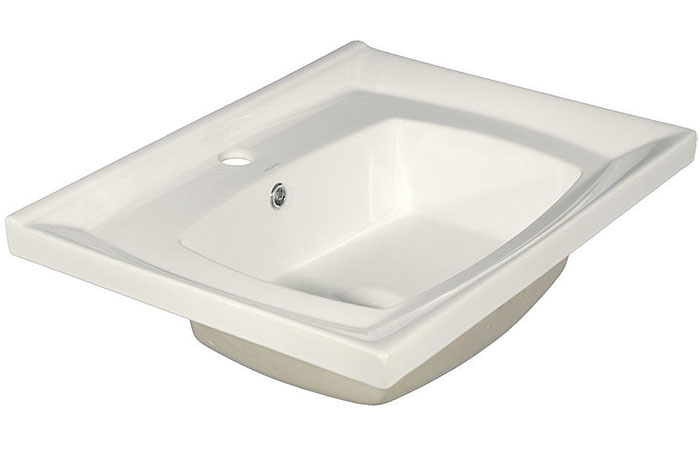 800-7502-60 (LT-7502-60) БелаяРаковины<br>Melana  LT-7502-60 раковина для ванной встраиваемая.<br>