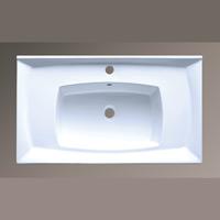 800-7502-80 (LT-7502-80) БелаяРаковины<br>Melana LT-7502-80  раковина для ванной встраиваемая.<br>