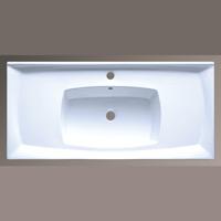 800-7502-100 (LT-7502-100) БелаяРаковины<br>Melana LT-7502-100 раковина для ванной встраиваемая.<br>
