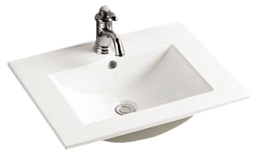 800-8004-80  БелаяРаковины<br>Melana  LT-7506-80 раковина для ванной встраиваемая. Смеситель в комплект не входит.<br>