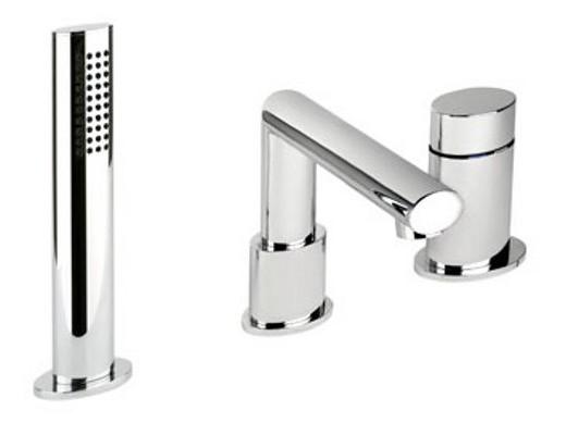 Ovale 23037.031 ХромСмесители<br>Смеситель для ванны, встраиваемый в борт Gessi Ovale 23037.031.<br>