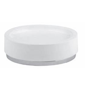 Ovale 25326.031 КерамикаАксессуары для ванной<br>Мыльница для стола Gessi Ovale 25326.031.<br>