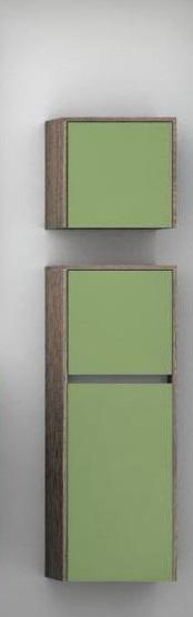 Фабиа   Фисташка/дуб инкантоМебель для ванной<br>Шкаф подвесной Акватон 1A167603FBAC0 Фабиа. Цвет фисташка/дуб инканто.<br>