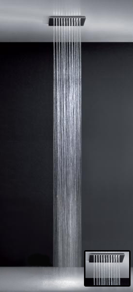 Minimali 32909.238 Зеркальная стальВерхние души<br>Душ потолочный, 1 функция Gessi Minimali 32909.238.<br>