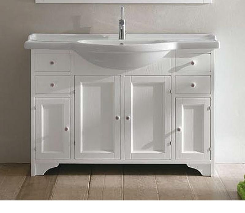 Gemma 120 bianco decapeМебель для ванной<br><br>
