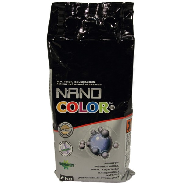 Затирка для швов  Nano color Nanofuga - фото