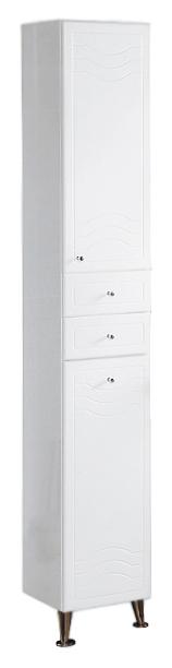 Шкаф-колонна Акватон Домус 1A122003DO01L Белый левый шкаф колонна акватон минима м 1a132203mn01l белый левый
