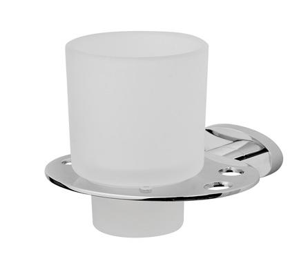 Awe A1534300 ХромАксессуары для ванной<br>Стеклянный стакан AM PM Awe A1534300, с настенным держателем.<br>