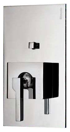 POBA5150 CSP (Матовый хром)Смесители<br>Встраиваемый в стену смеситель для ванны/душа Ritmonio TETRIS POBA5150 CSP. Цвет: матовый хром.<br>