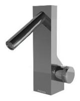 NOBA4011 INX (Матовый никель)Смесители<br>Смеситель для раковины CLOCK WORK NOBA4011 INX без донного клапана. Цвет: Матовый никель.<br>