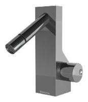 NOBA4022 INX (Матовый никель)Смесители<br>Смеситель для биде CLOCK WORK NOBA4022 INX без донного клапана. Цвет: Матовый никель.<br>